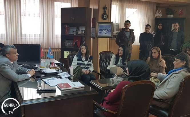 Avrasya Üniversitesi Gümrük İşletme Bölümü Öğrencilerinden Ziyareti