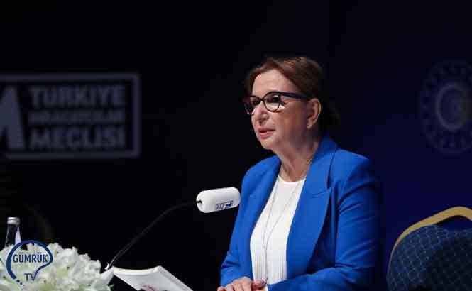 KKTC Cumhurbaşkanı Tatar, Ticaret Bakanı Pekcan'ı Kabul Etti