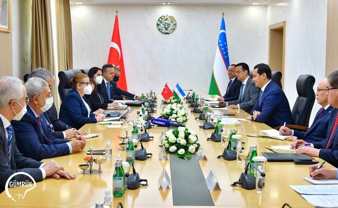 Özbekistan-Türkiye Yuvarlak Masa Toplantısı