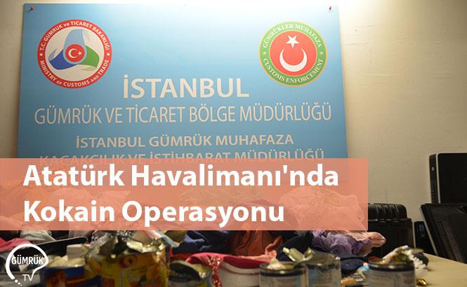 Atatürk Havalimanı'nda Kokain Operasyonu