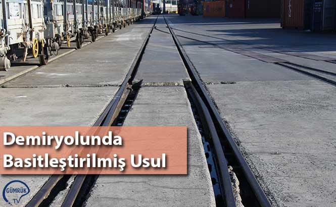 Demiryolunda Basitleştirilmiş Usul