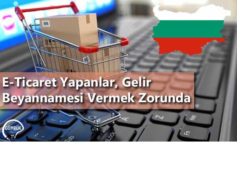 E-Ticaret Yapanlar, Gelir Beyannamesi Vermek Zorunda
