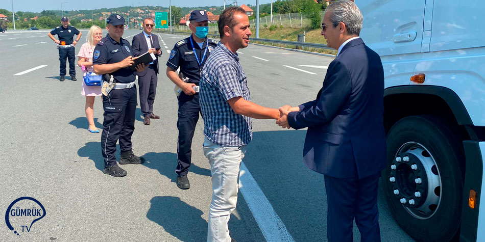 UND'den Sırbistan'da Takograf Kontrolü