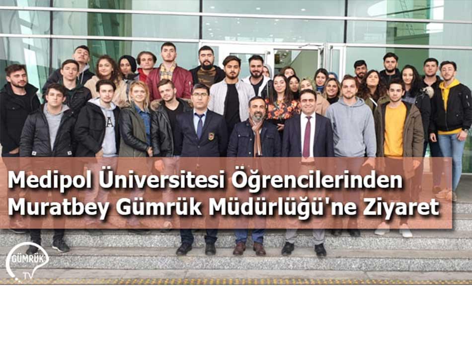 Medipol Üniversitesi Öğrencilerinden Muratbey Gümrük Müdürlüğü'ne Ziyaret