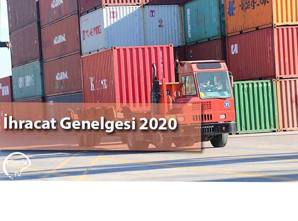 İhracat Genelgesi 2020