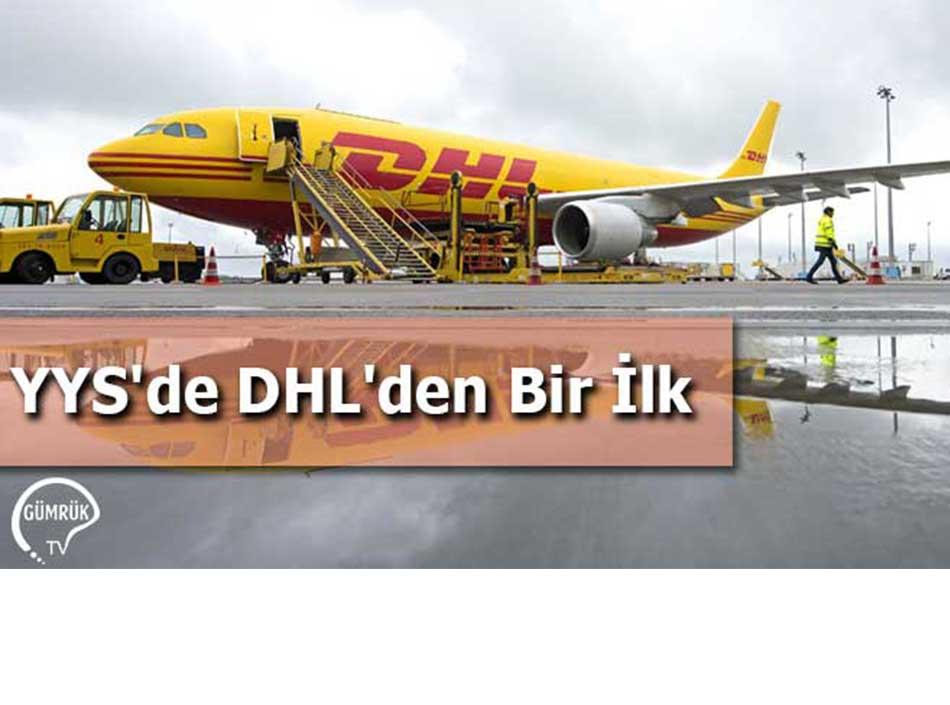 YYS'de DHL'den Bir İlk