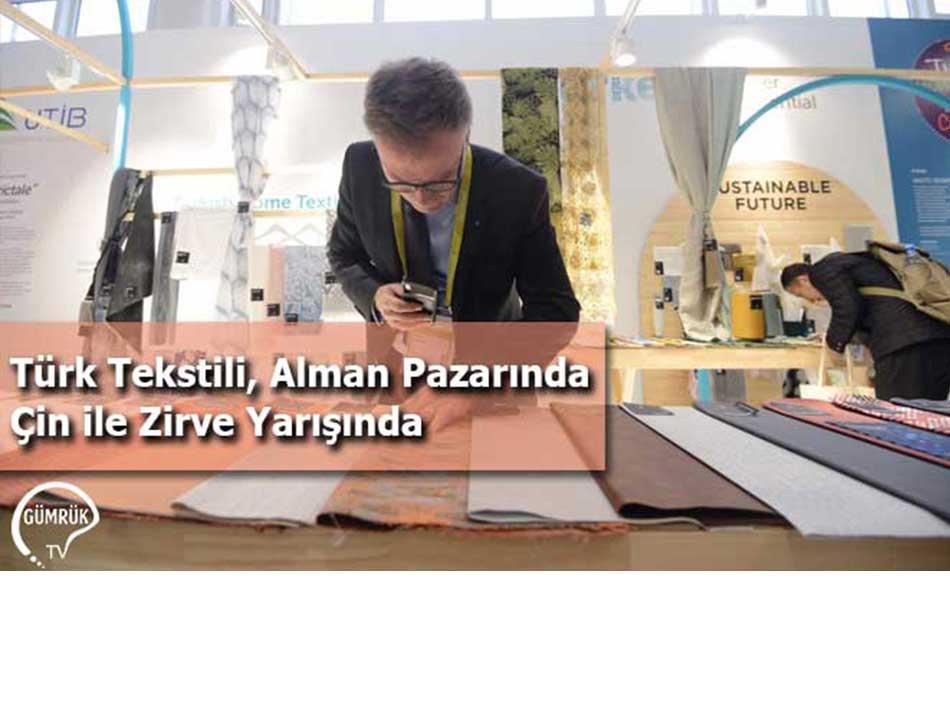 Türk Tekstili, Alman Pazarında Çin İle Zirve Yarışında