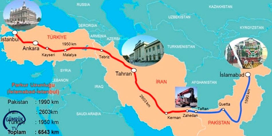 İslamabad - Tahran - İstanbul (İTİ) Ulaştırma Koridoru