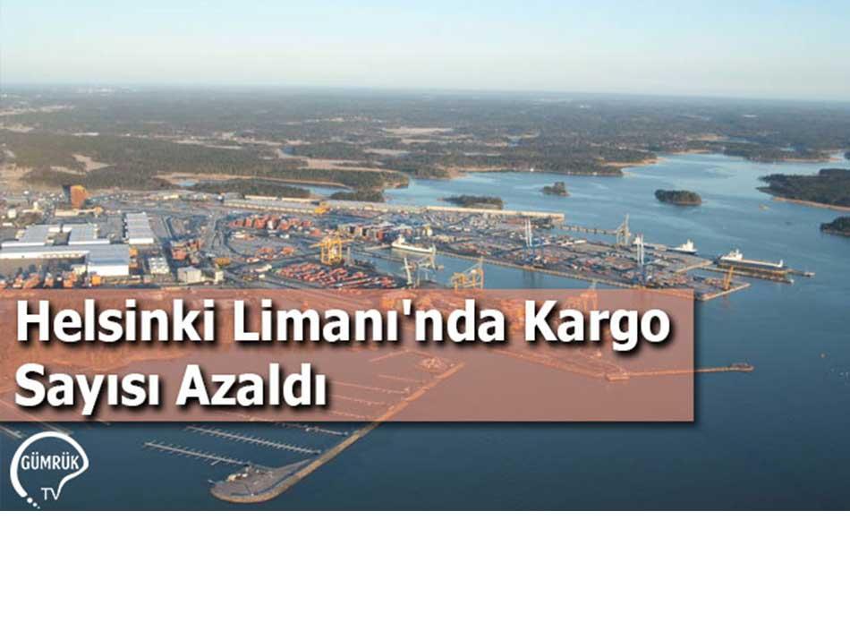 Helsinki Limanı'nda Kargo Sayısı Azaldı