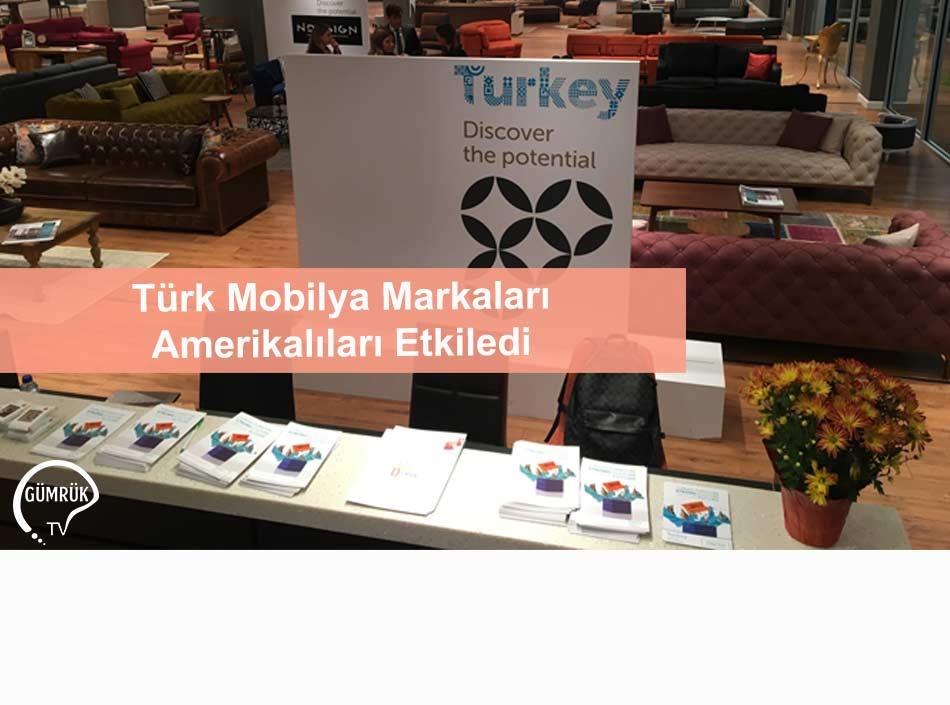 Türk Mobilya Markaları Amerikalıları Etkiledi