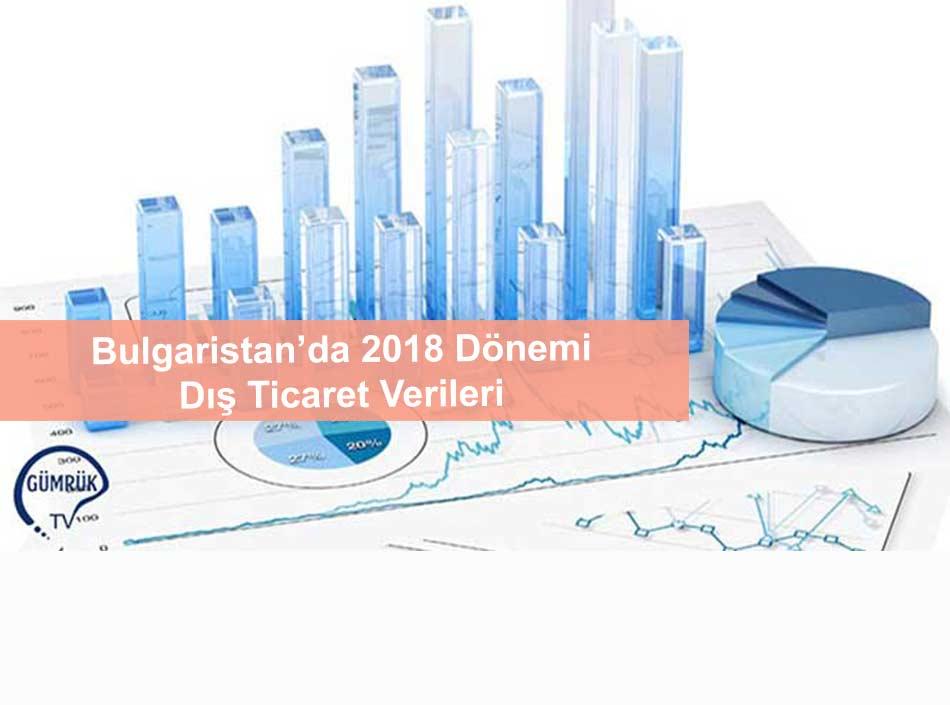 Bulgaristan'da 2018 Dönemi Dış Ticaret Verileri