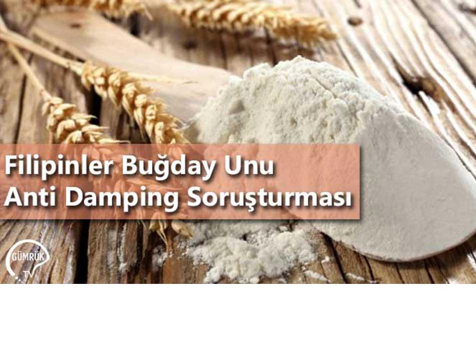 Filipinler Buğday Unu Anti Damping Soruşturması
