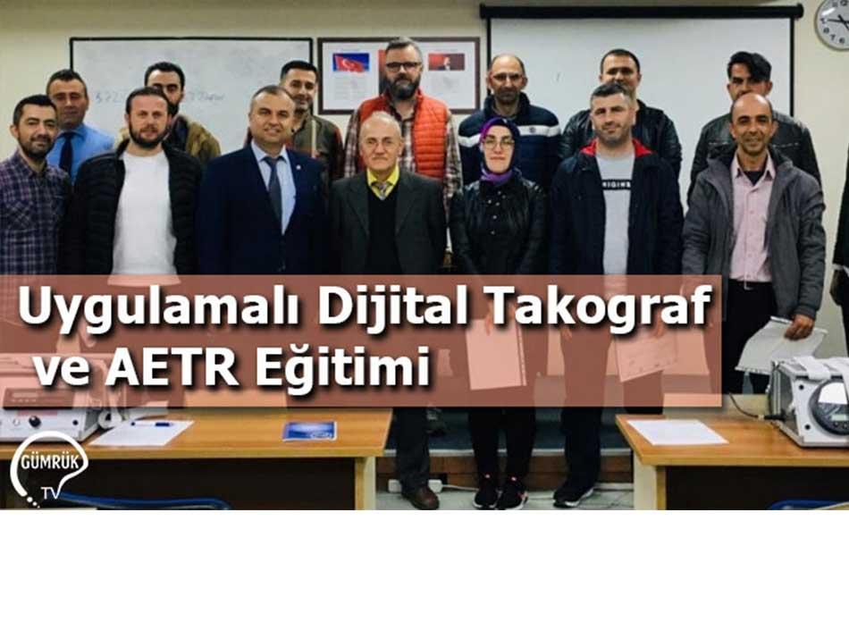 Uygulamalı Dijital Takograf ve AETR Eğitimi