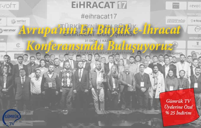 Avrupa'nın En Büyük e-İhracat Konferansı'nda Buluşuyoruz