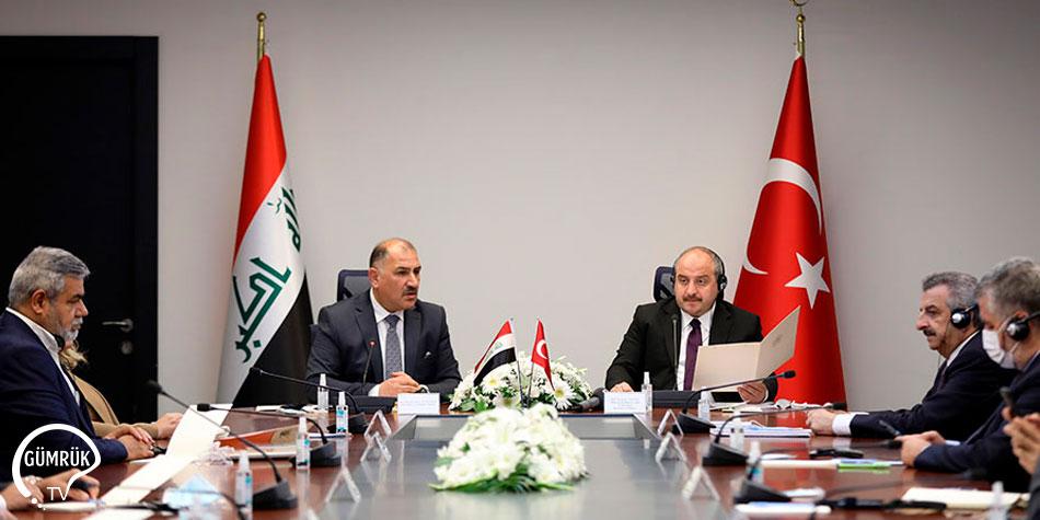 Bakan Varank Iraklı Mevkidaşı İle Görüştü