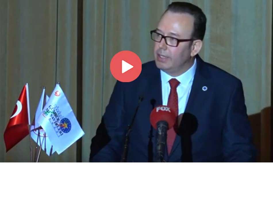 İGMD Genel Sekreteri Mustafa Sezen'in İftar Yemeği Açılış Konuşması