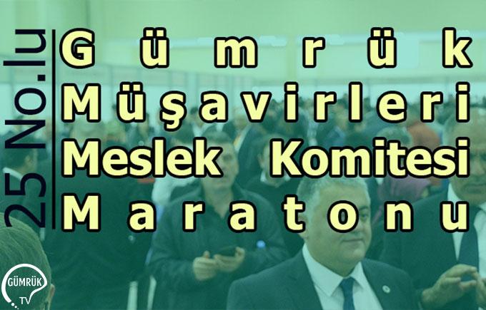 Gümrük Müşavirleri Meslek Komitesi Seçim Maratonu