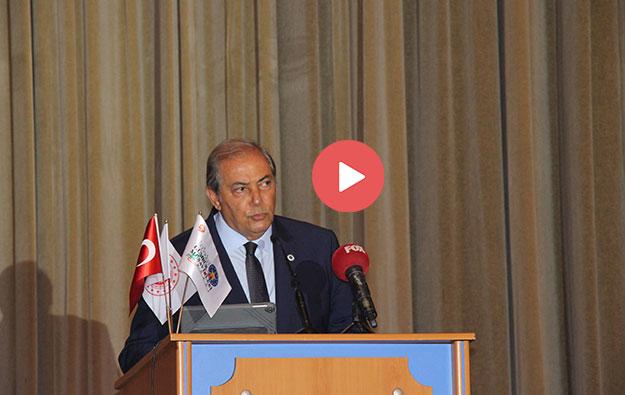 İGMD Yönetim Kurulu Başkanı Serdar Keskin Konuşma