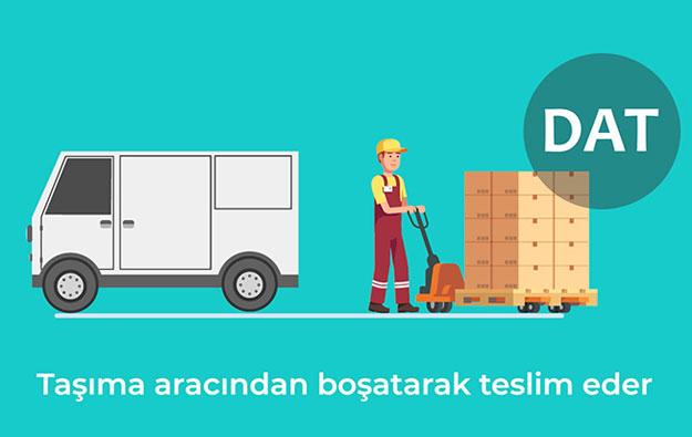 DAT (Delivery At Terminal) Terminalde Teslim